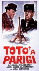 Totò a Parigi - Italian Movie Poster (xs thumbnail)