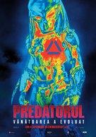 The Predator - Romanian Movie Poster (xs thumbnail)