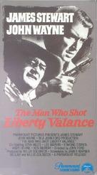 The Man Who Shot Liberty Valance - VHS movie cover (xs thumbnail)
