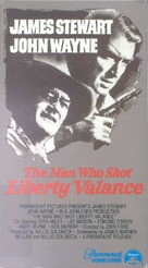The Man Who Shot Liberty Valance - VHS movie cover (xs thumbnail)