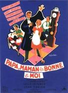 Papa, maman, la bonne et moi... - French Movie Poster (xs thumbnail)