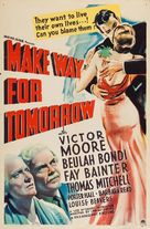 Make Way for Tomorrow - Movie Poster (xs thumbnail)