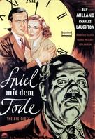 The Big Clock - German Movie Poster (xs thumbnail)