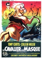The Purple Mask - French Movie Poster (xs thumbnail)