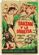 Tarzan and the She-Devil - Argentinian Movie Poster (xs thumbnail)