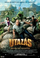 Journey 2: The Mysterious Island - Hungarian Movie Poster (xs thumbnail)