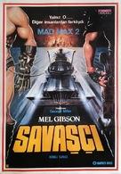 Mad Max 2 - Turkish Movie Poster (xs thumbnail)
