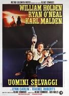 Wild Rovers - Italian Movie Poster (xs thumbnail)