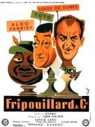 I tartassati - French Movie Poster (xs thumbnail)