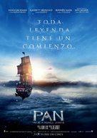 Pan - Spanish Movie Poster (xs thumbnail)