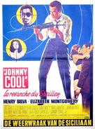 Johnny Cool - Belgian Movie Poster (xs thumbnail)