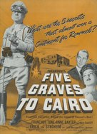 Five Graves to Cairo - Movie Poster (xs thumbnail)