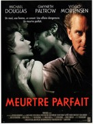 A Perfect Murder - French Movie Poster (xs thumbnail)