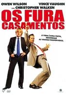 Wedding Crashers - Portuguese DVD movie cover (xs thumbnail)
