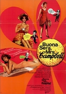 Buona Sera, Mrs. Campbell - German Movie Poster (xs thumbnail)