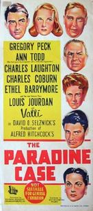 The Paradine Case - Australian Movie Poster (xs thumbnail)
