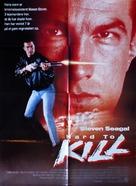 Hard To Kill - Danish Movie Poster (xs thumbnail)
