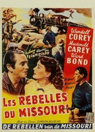 The Great Missouri Raid - Belgian Movie Poster (xs thumbnail)
