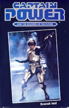 """""""Captain Power and the Soldiers of the Future"""" - Swedish VHS movie cover (xs thumbnail)"""
