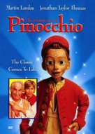 The Adventures of Pinocchio - DVD cover (xs thumbnail)