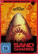 Sand Sharks - German DVD cover (xs thumbnail)