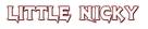 Little Nicky - Logo (xs thumbnail)