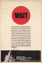 Wait Until Dark - Movie Poster (xs thumbnail)