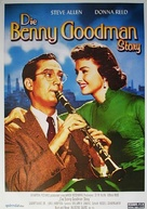 The Benny Goodman Story - German Re-release poster (xs thumbnail)