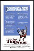 Die Blechtrommel - Movie Poster (xs thumbnail)