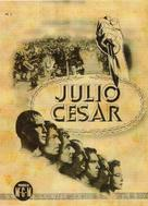 Julius Caesar - Spanish Movie Poster (xs thumbnail)