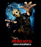 Friday the 13th Part VII: The New Blood - German poster (xs thumbnail)
