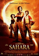 Sahara - German Movie Poster (xs thumbnail)