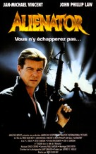 Alienator - French VHS movie cover (xs thumbnail)