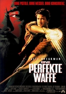 The Perfect Weapon - German Movie Poster (xs thumbnail)