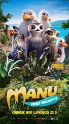 Manou the Swift - Lithuanian Movie Poster (xs thumbnail)