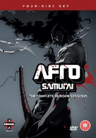 """Afro Samurai"" - British DVD movie cover (xs thumbnail)"