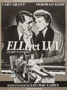 An Affair to Remember - French Re-release movie poster (xs thumbnail)