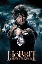 The Hobbit: The Battle of the Five Armies - Movie Cover (xs thumbnail)