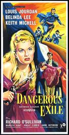 Dangerous Exile - British Movie Poster (xs thumbnail)