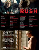 Rush - For your consideration poster (xs thumbnail)
