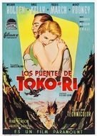 The Bridges at Toko-Ri - Spanish Movie Poster (xs thumbnail)