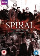 """""""Engrenages"""" - British DVD movie cover (xs thumbnail)"""