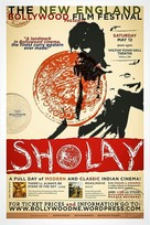 Sholay - British Movie Poster (xs thumbnail)