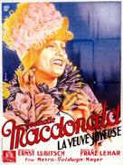The Merry Widow - French Movie Poster (xs thumbnail)