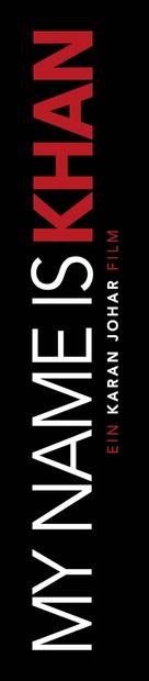 My Name Is Khan - German Logo (xs thumbnail)