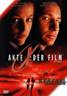 The X Files - German Movie Cover (xs thumbnail)