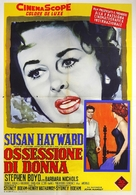 Woman Obsessed - Italian Movie Poster (xs thumbnail)