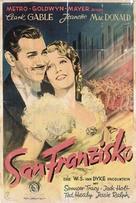 San Francisco - German Movie Poster (xs thumbnail)
