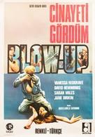 Blowup - Turkish Movie Poster (xs thumbnail)
