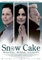 Snow Cake - Dutch Movie Poster (xs thumbnail)